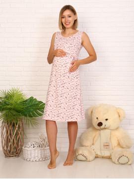 Сорочка для беременных  8.06 удлиненная