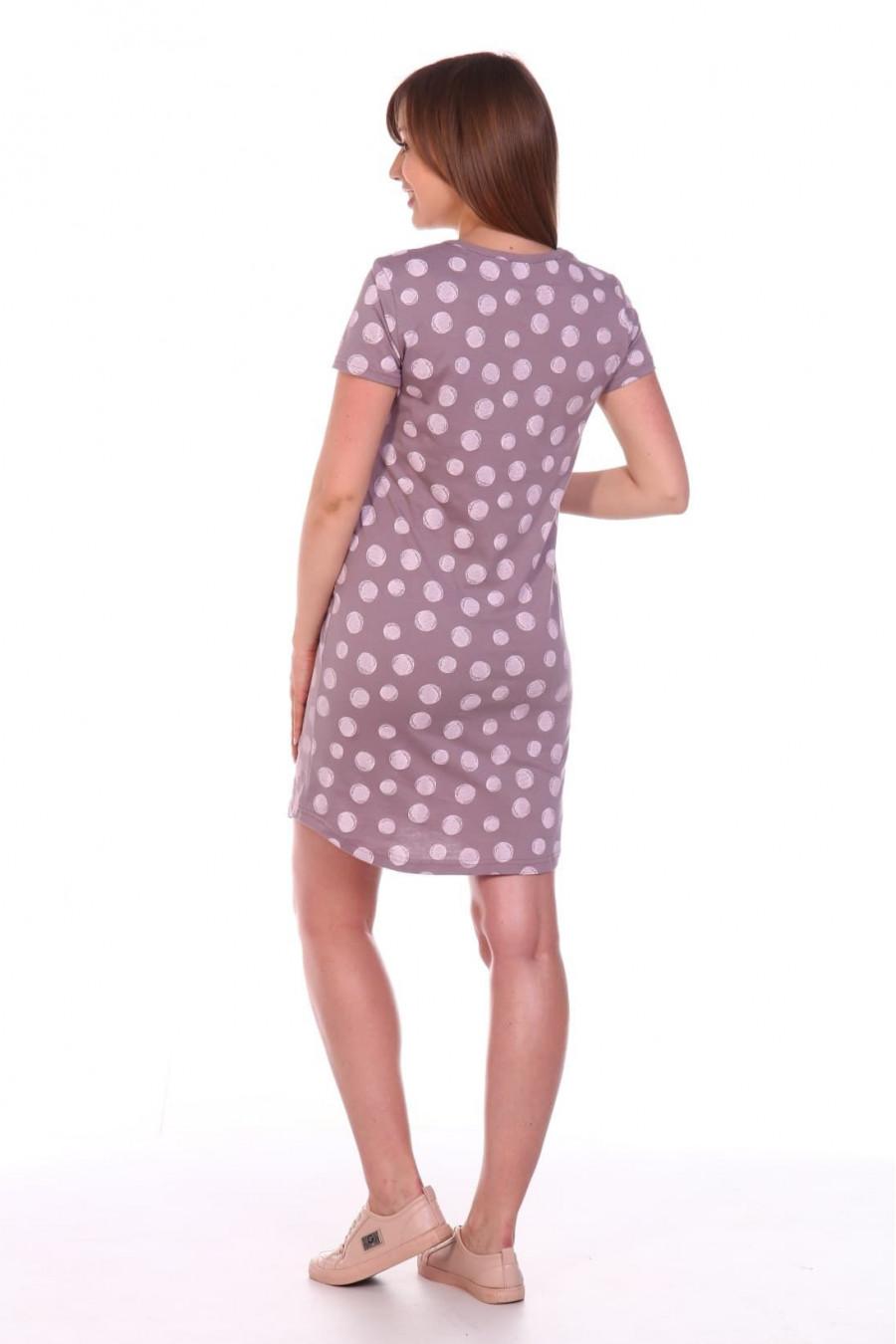 Платье, кулирка 8.105 микс