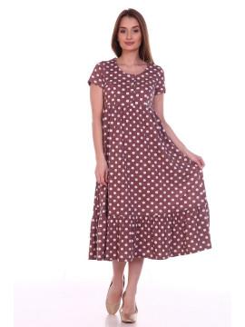 Платье женское 8.109 коричневый