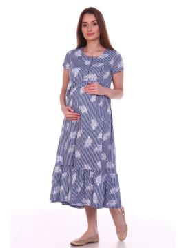 Платье женское для беременных 8.109 полоска