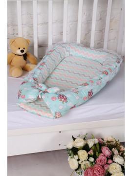 Гнездо-кокон для новорожденного 8.67-Ю микс цвета