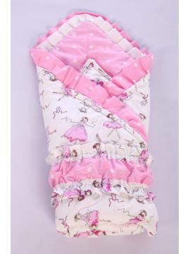 Одеяло-конверт для новорожденного 8.68-Ю микс расцветки