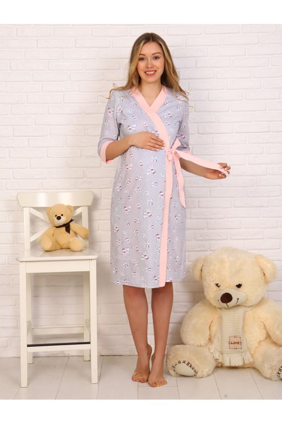 Комплект для беременных и кормящих кулирка 8.74 розовый
