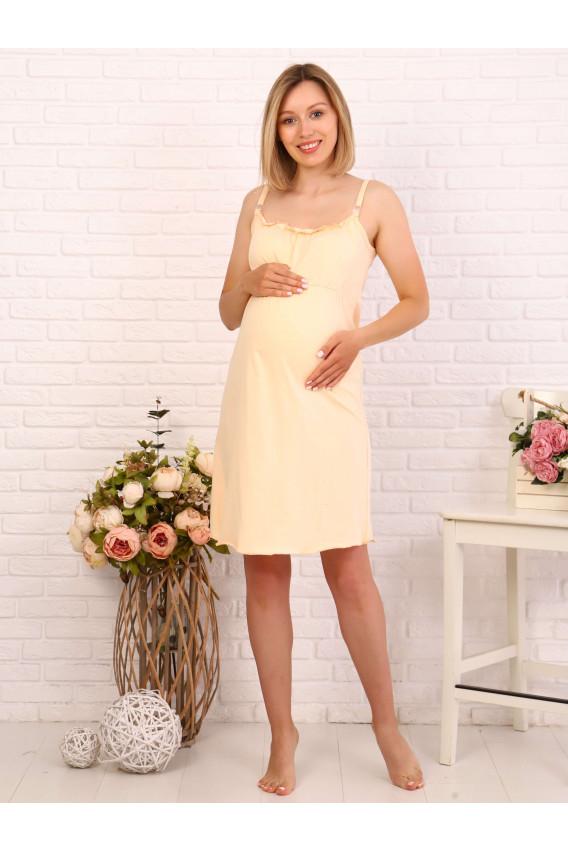 Комплект для беременных и кормящих кулирка 8.76 полоска/желтый